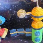 поделки на день космонавтики в школе и детском саду